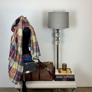 Accessories - Plaid // Check Blanket Scarf